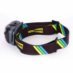 HeroBeam LED Head Torch - Best Pocket-Sized Headlamp for Running, Dog Walking, Fishing, Biking, Camping, Watching Nature, Reading, Cycling or DIY -...