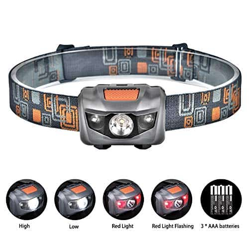 Linkax LED Head Torch Super Bright 120 Lumens LED for Running Camping Hiking